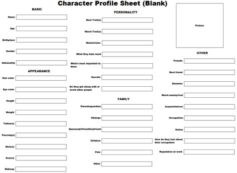 character sheet template character profile sheet go search for tips tricks cheats search at search