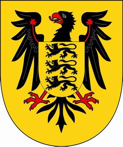 Arms Hohenstaufen Germany Staufen Coat King Von