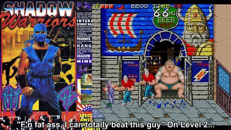 Retro Review Shadow Warriors Ninja Gaiden Arcade Youtube