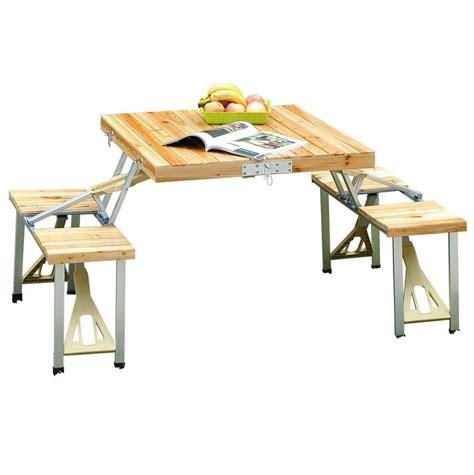 compact folding cing table portable folding picnic table picnic table portable