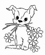 Coloring Dog Prairie Pages Puppy Printable Cute Getcolorings sketch template