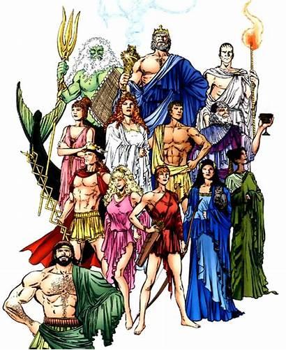 Gods Olympus Greek Dc Pantheon God Comics