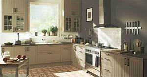 decoration cuisine et salle de bain 2 cuisine taupe With deco salle de bain taupe
