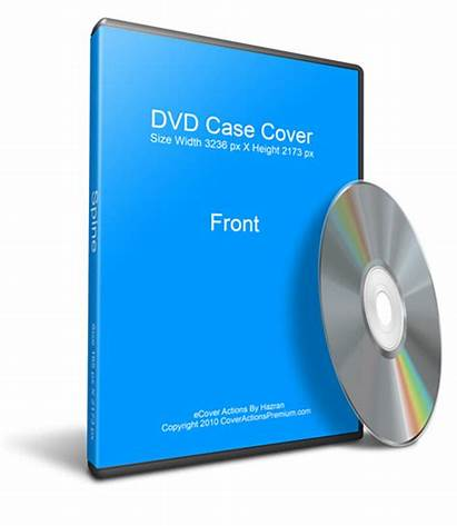 Dvd Case Cd Mockup Blank Photoshop Actions