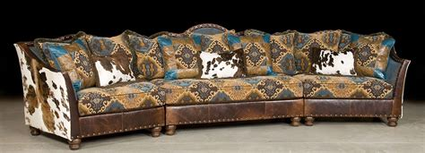 western leather sectional sofa western style sectional sofas outlaw sectional sofa in