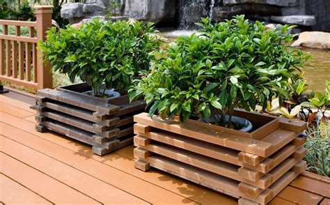 wooden garden boxes best wood for planter boxes how to make wooden planter