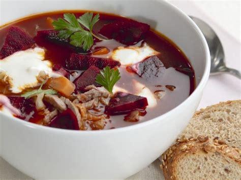 rote bete suppe mit rindfleisch borschtsch rezept eat