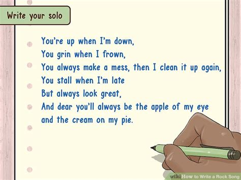 how do you make rock how to write a rock song 13 steps with pictures wikihow
