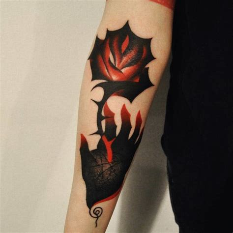 Star Tattoo Yellow