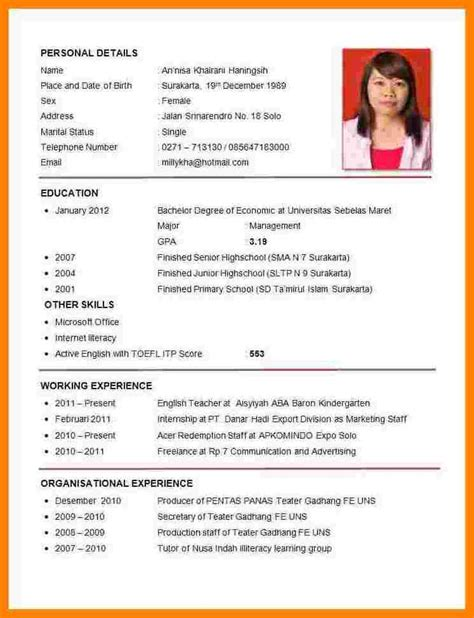 9 how to make a cv from for points of origins