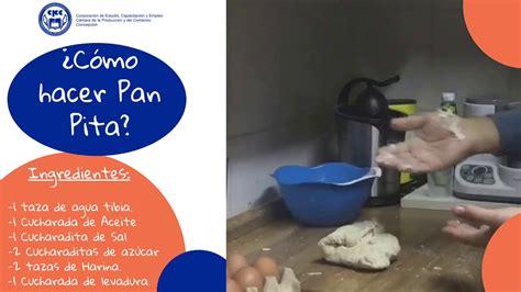 i+d LENGUAJE RECETE PAN PITA - YouTube
