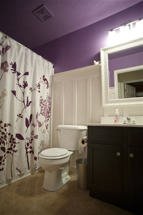 purple paint   home