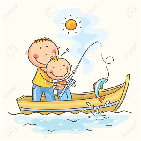 Clipart Boat Fishing by Fishing Boat Clipart Dad Clipart Free Clipart On