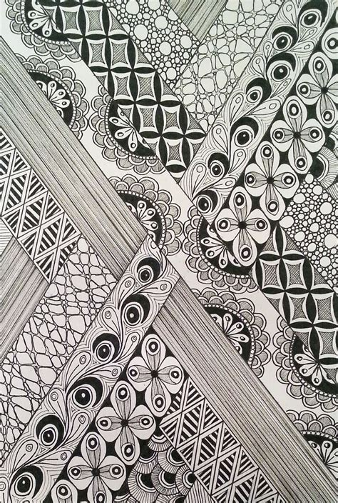 judys zentangle creations pebbles step  step