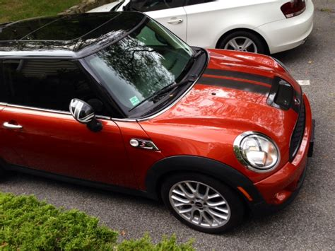 fs  mini cooper  spice orange auto helix fmic