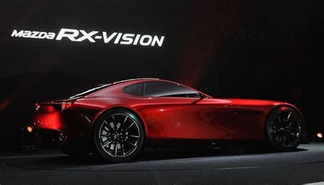 mazda rx vision rotary powered car torque news