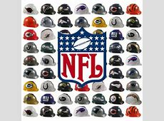 NFL Team Hard Hats By MSA First American Safety