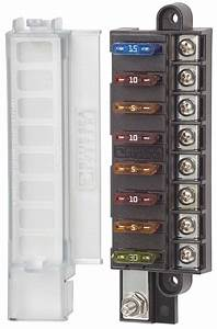 4x4 Outdoor Tuning    Bluesea Fuse Box With Cover For 8 Blade