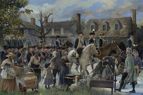 revolution siege george washington paintings tell a fantastic