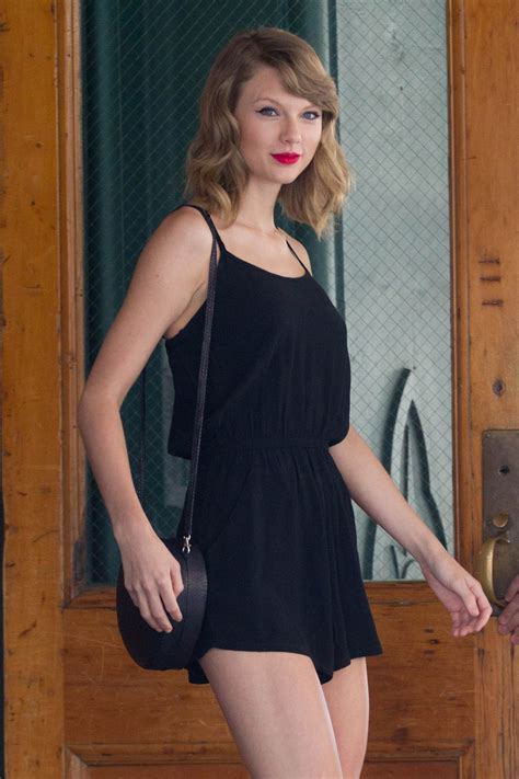 Taylor Swift Every Day Leggy - Out in NYC - June 2014