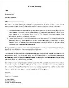 7 Professional Warning Letter Templates Formal Word