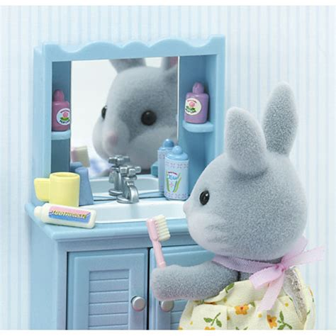 calico critters master bathroom set accessories calico critters master bathroom set timbuk toys