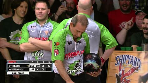 Dallas Strikers Attempt to Bowl Perfect 300 Game on ESPN ...