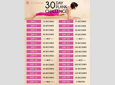 30 Day Plank Challenge See the Best Planking Workouts!