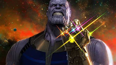 thanos avengers infinity war laptop full hd