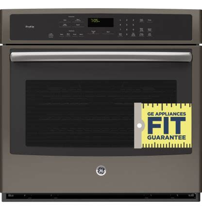 ge profile ptehes series  built  single convection wall oven  appliances