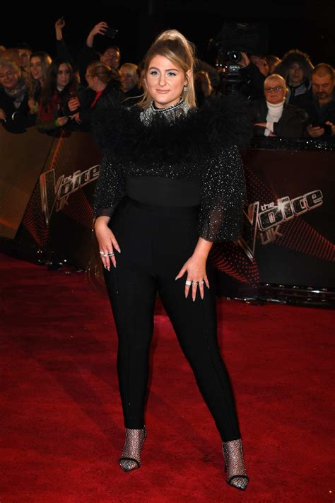 Meghan Trainor attends 'The Voice' UK Blind Auditions at ...