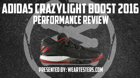 adidas CrazyLight Boost 2016 Performance Review - WearTesters
