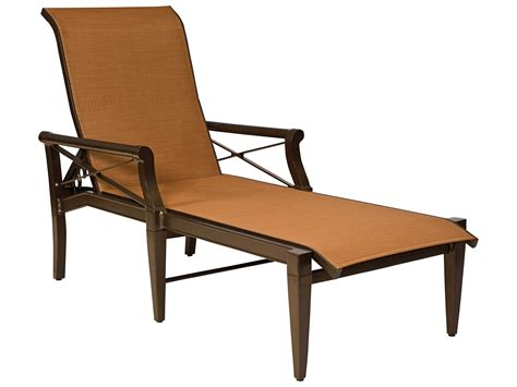 chaise alu woodard andover sling aluminum chaise lounge 3q0470