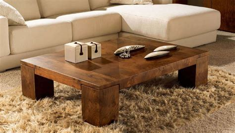 rustic wood coffee table design images  pictures