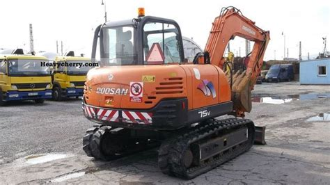 doosan   minibager solar protons  minikompact digger construction equipment photo
