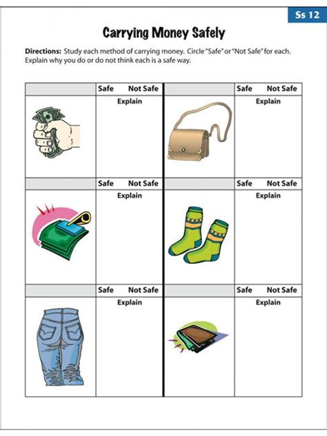 amusing empowered   life skills worksheets related