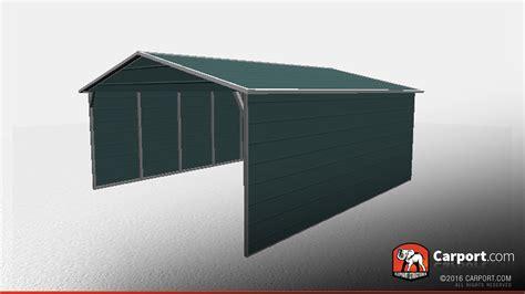 double wide boxed eave carport carports info