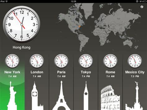 world clock hd ipad world clock app reviews ipad