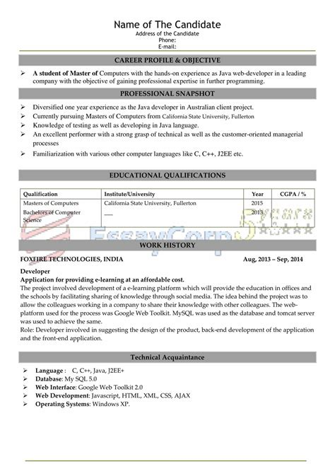 sample  resume writing resume reflection  essaycorp
