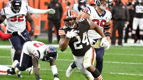 Browns' Nick Chubb made bettors, fantasy football players ...