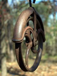 Water Well Pulley   photo page - everystockphoto