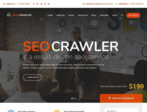 Best Seo Websites - 20 best marketing themes 2019 athemes