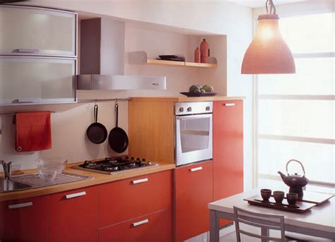 Small Kitchen Design Ideas Orange Cabinets Frosted Cabinet