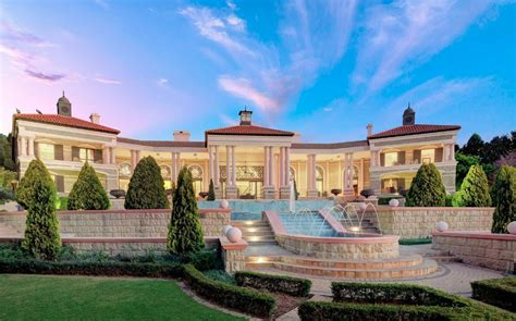 incredible mega mansion  johannesburg south africa homes   rich