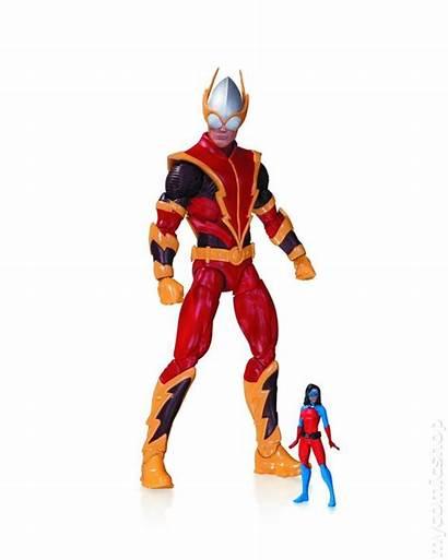 Dc Comics Villains Action Atomica Figure Quick
