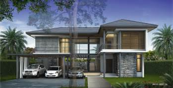 harmonious tropical style house plans resort floor plans 2 story house plan 4 bedrooms 4