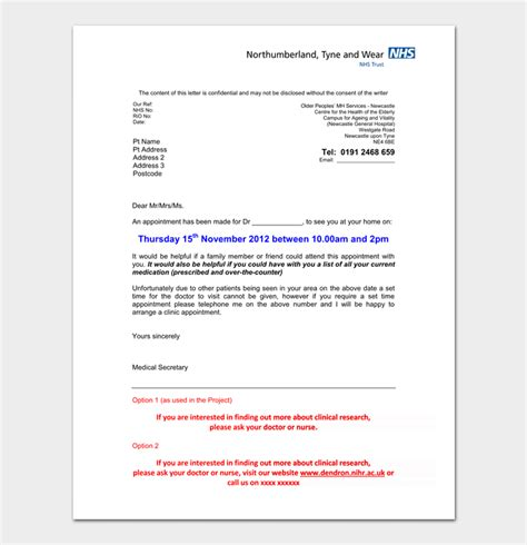 friendly letter templates 44 free sle exle appointment letter format hospital 28 images 44 32573