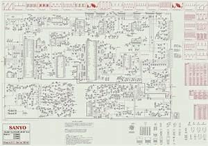 Schematic Diagrams  Sanyo Ctv Circuit Diagram  Schematic