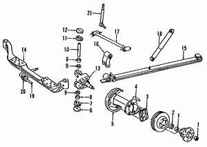 Chevrolet Tahoe Suspension Subframe  2wd W  15  000 Gvwr