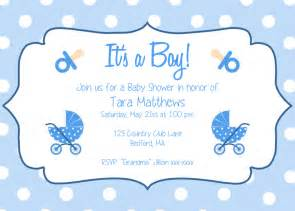 Free Printable Boy Baby Shower Invitations by Baby Shower Invitations For Boys Free Templates